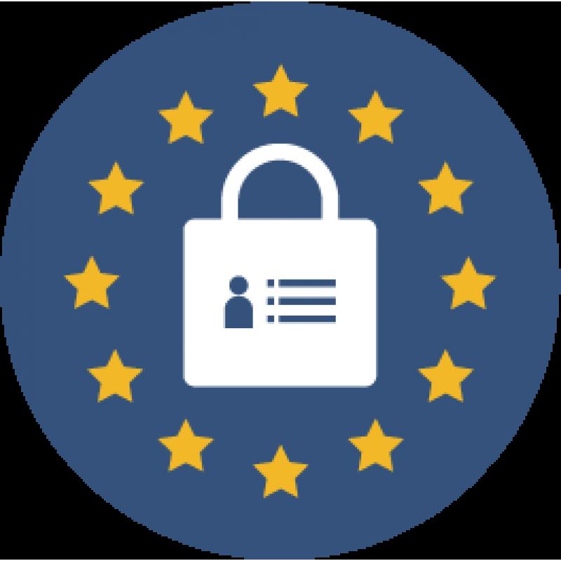 Icon RGPD, GDPR, Privacy, Données personnelles