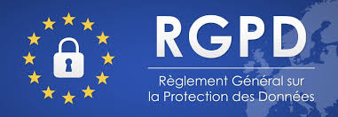 Banner Icon RGPD, GDPR, Privacy, Données personnelles