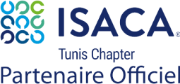 ISACA_logo_Tunis_Partnaire Officiel Small